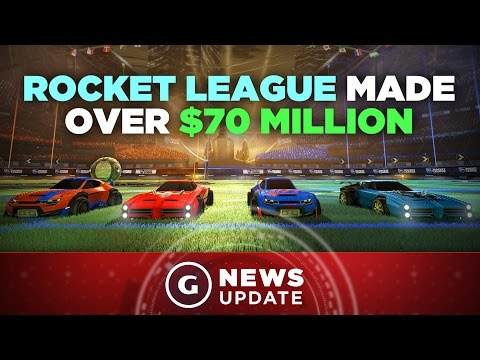 Rocket League Generates $70 Million-Plus, Nearing 4 Million Sales - GS News Update