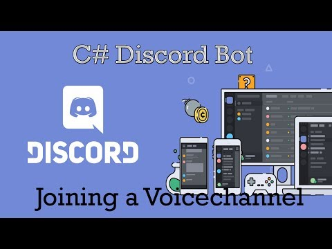 Discord Bot C# Programming | Joining a Voicechannel
