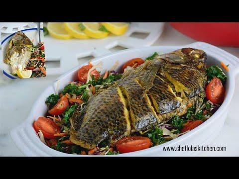 Fish Recipes: Baked Tilapia  | Afropotluck