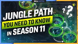 The META Jungle Path EVERY PLAYER MUST KNOW in Season 11 - League of Legends