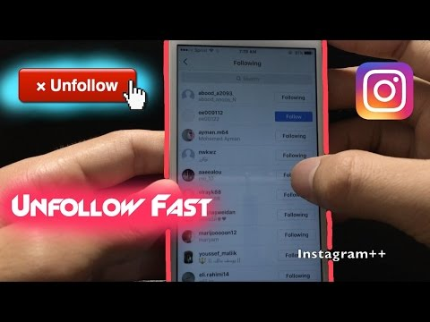 How to Unfollow People on Instagram FAST
