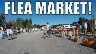 FLEA MARKET ADVENTURES - Still Buying And Selling