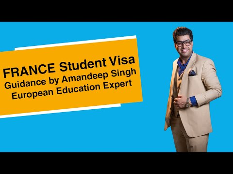 France Student Visa Guidance by Amandeep Singh( European Education Expert )