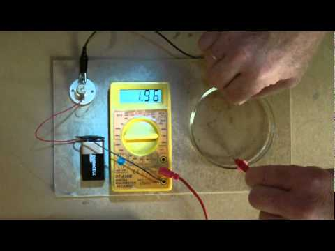 conductivity of water