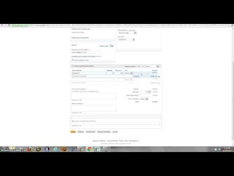HOW TO CREATE AN INVOICE USING PAYPAL