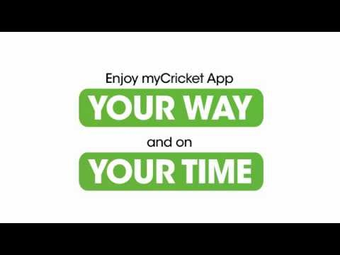 The myCricket App Overview   Cricket Wireless