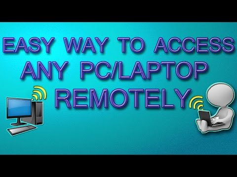 How to access any computer anywhere from any pc/laptop | through internet remotely