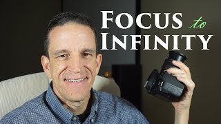 Focus to Infinity without Indicator (i.e. Nikon 18-55 kit lens)
