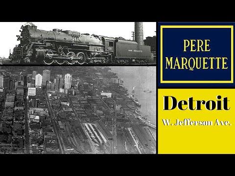 Pere Marquette Railroad, Detroit MI.