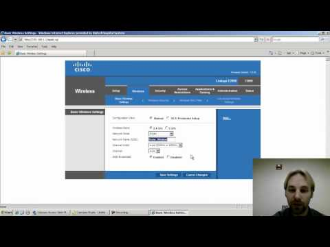 United Hosptial System - WPA2 Configuration on Linksys E2000