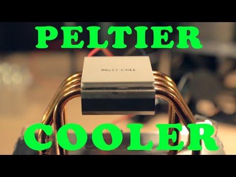 Peltier Water Cooler