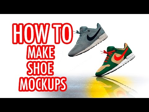 How To Make A Mockup for Custom Nike Shoes in Photoshop
