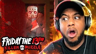 JASON IS COMING FOR YOU!! | Friday The 13th: Killer Puzzle