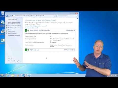 Configuring Windows Firewall