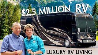 Full Tour Inside a 2.5 Million Dollar RV