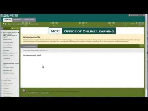 Blackboard Learning Module Construction