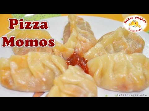 Pizza Momos Recipe - वेज मोमोज | Steamed Momos Recipe | Dr. Stuti's Kitchen