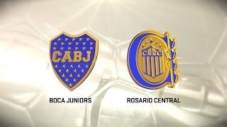 Boca vs. Rosario Central. Fecha 10. Torneo de Primera División 2016/2017. FPT