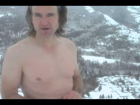 Snowy Mountain Hiking