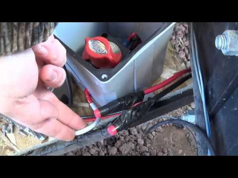 How to wire Solar Batteries to my RV - 24v down to 12v - Off Grid Solar Power
