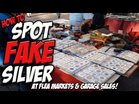 STOP BUYING SILVER! Learn how to spot FAKE Coins & Bars!