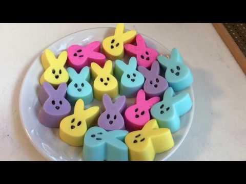 DIY MELT & POUR SOAP - Marshmallow Peeps Soap