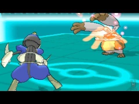 Pokemon X and Y Wi-Fi Battle: shofu vs Aaron