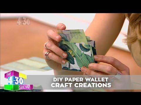 DIY Paper Wallet - Craft