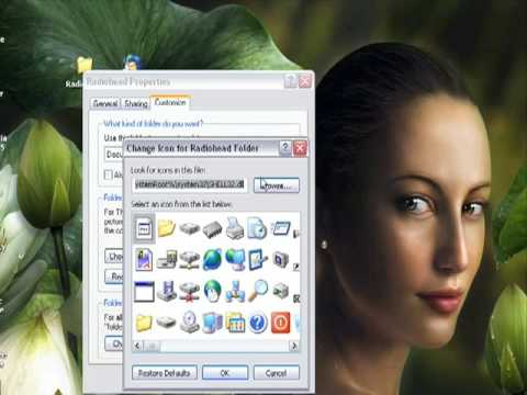 How to change Folder and Shortcut Icons