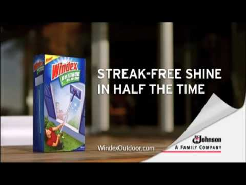 Windex™ Outdoor All-in-One Glass Cleaning Tool