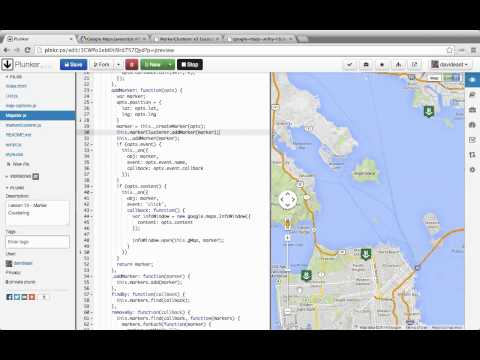 Custom Interactive Maps with the Google Maps API 12 Marker Clustering