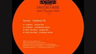 Savvas - What you need (Echofusion remix)