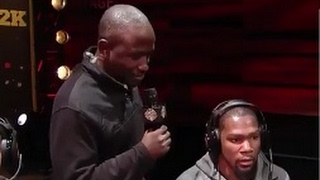Hannibal Buress asks Kevin Durant a question SAVAGE