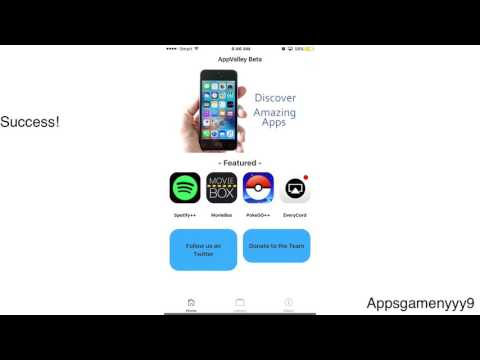 How to install AppValley iOS 10.3.2/.11 Free tweaked Apps No cydia without jailbreak iPhone iPad