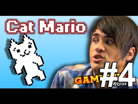 CAT MARIO BROKE SMOSH (Gametime w/ Smosh)
