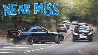 Supercars and Tuners Leaving a Car Show - November 2017