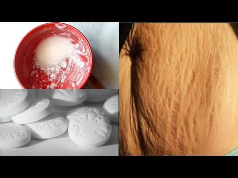 USE ASPIRIN REMOVE STRETCH MARKS IN 7 DAYS