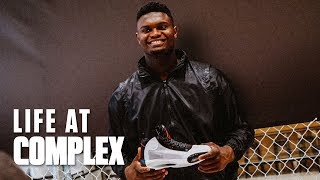 Zion Williamson Unveils Air Jordan 34 In Harlem! | #LIFEATCOMPLEX