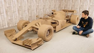 Download How to Make FORMULA 1 Car from Cardboard for 500 hours Video