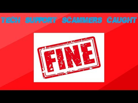 Tech Support Scammers Fined $2m!