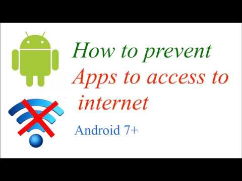 How to block Android apps to access Internet in Background / No root, no app
