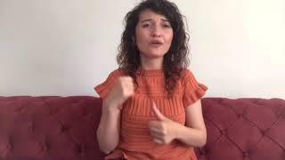 Tuğçe Kandemir - Gülü Soldurmam 🥀  İşaret Dili Selma Sönmez
