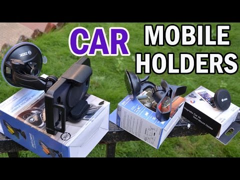 Zoook Moto69 Mobile Phone Car Mount/ Holder's