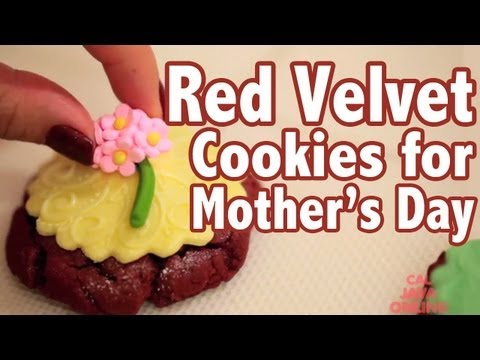 How To Make Red Velvet Cookies for Mother's Day: Recipe | Cake Tutorial