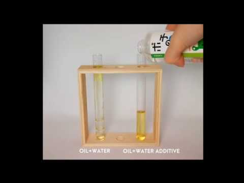 Water Additive Oil Emulsification Test