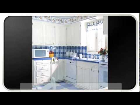 Blue Modern Kitchen Tiles Ideas