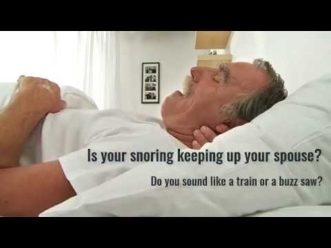 Is snoring a problem for you or someone you know?