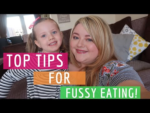 MY TOP TIPS FOR FUSSY EATING! || MY CHILD'S A PICKY EATER! || My Happy Ever After