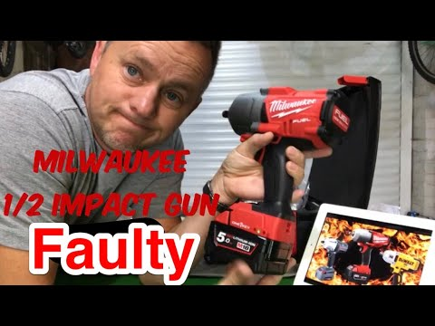 Milwaukee High Torque Impact Gun Faulty Trigger(M18 Brushless) ONE-KEY Fuel