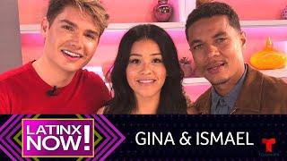 Latinx Now!   Gina Rodríguez Se Sorprende Del Pasado De Ismael Cruz Córdoba   Telemundo